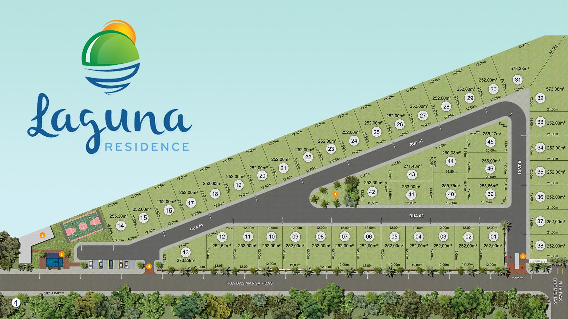 Masterplan Laguna residence